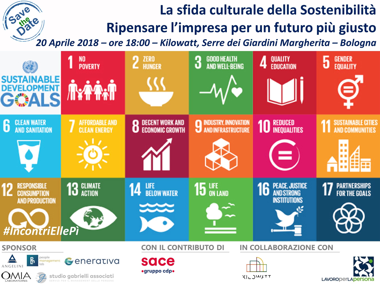 Incontri EllePì – La Sfida Culturale della Sostenibilità – Bologna – 20 Aprile