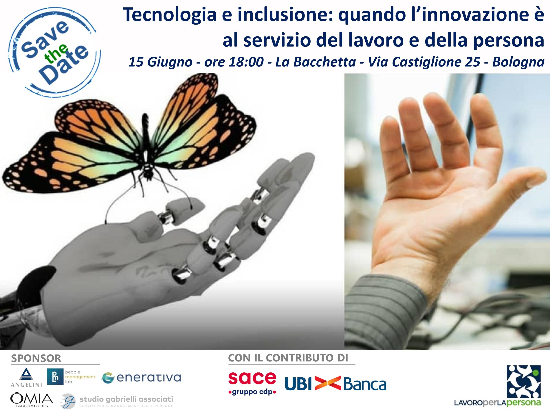 Incontri EllePì – Tecnologia e inclusione – Venerdì 15 Giugno – Bologna