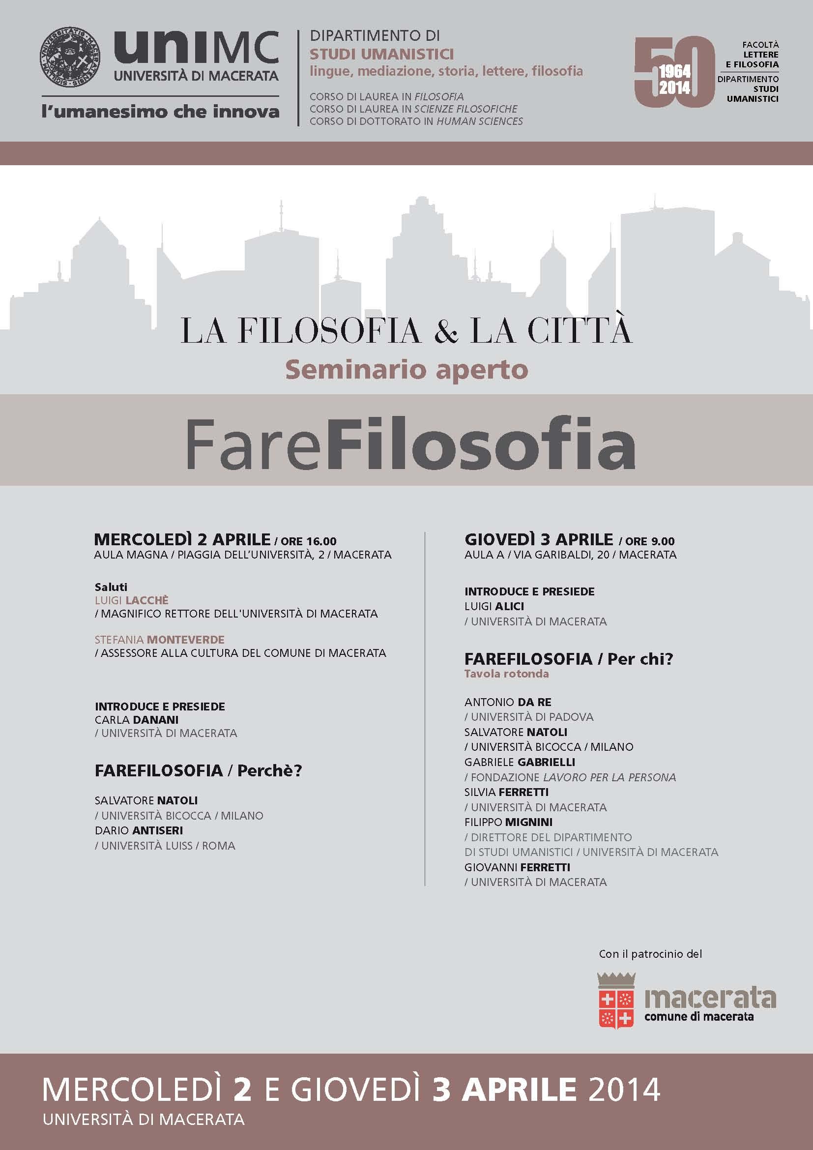 Locandina 2-3 aprile