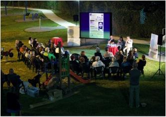 Parco Pablo Neruda. Uno sguardo d'insieme dell'incontro